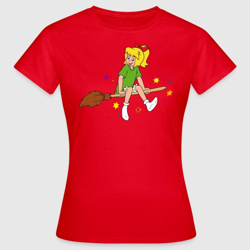 bibi blocksberg t shirt f r frauen t shirt spreadshirt. Black Bedroom Furniture Sets. Home Design Ideas