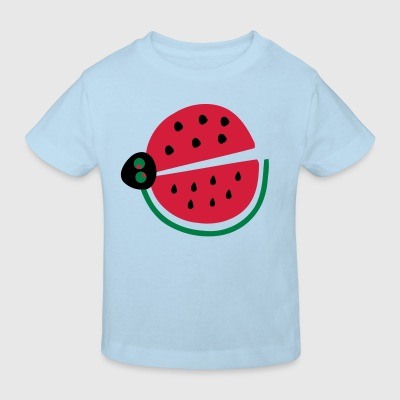 Watermelon ladybug Baby One -piece - Kids' Organic T-shirt