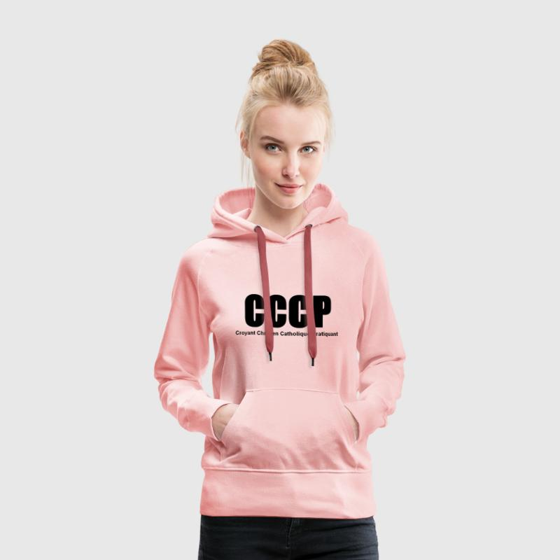 cccp Sweat-shirts - Sweat-shirt à capuche Premium pour femmes