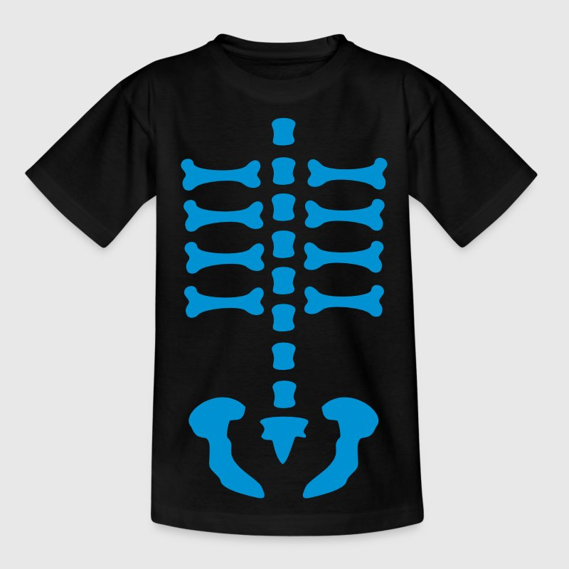 skeleton / rips  / bones / Body / human / c / can be combined with arm bones/ Kids' Shirts - Kids' T-Shirt