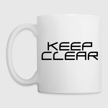 KEEP CLEAR | Trinkflasche - Tasse