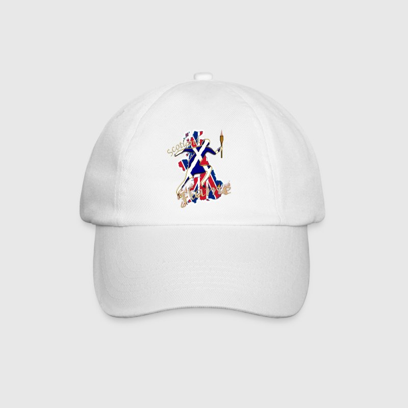 Scotland saltire UK sport runner Caps & Hats - Baseball Cap