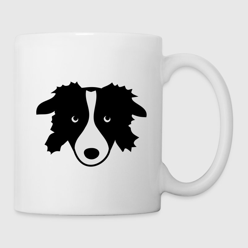 Border Collie Dog - Tazza