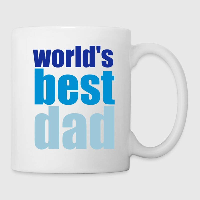 world's best dad Flaschen & Tassen - Tasse