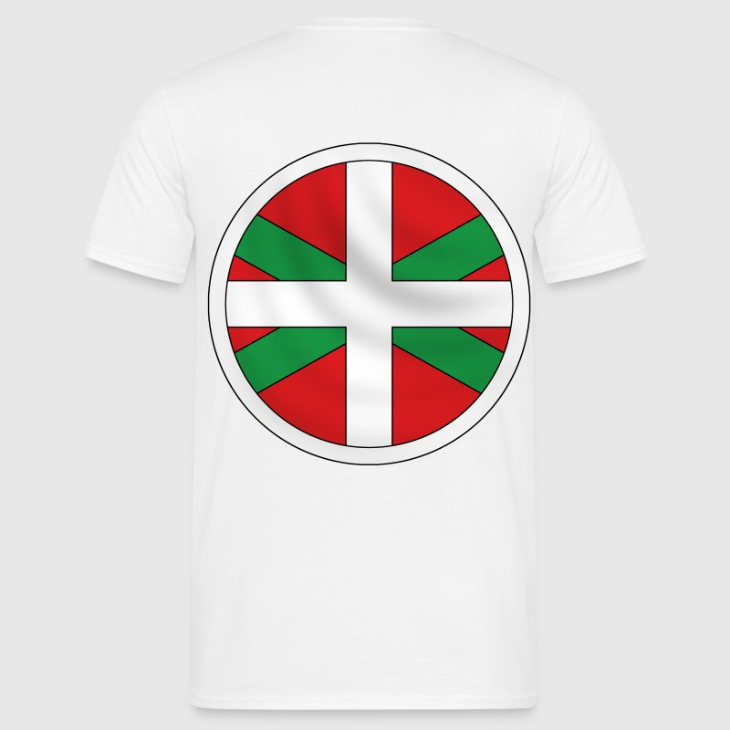 ikurrina, basque flag - Men's T-Shirt