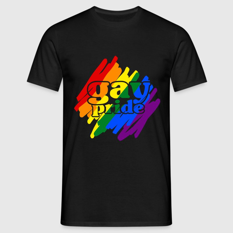 Gay__N006 T-shirts - Mannen T-shirt