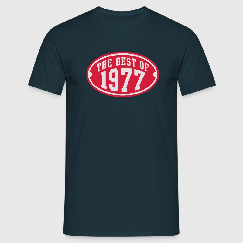 THE BEST OF 1977 2C Birthday Anniversaire Geburtstag T-Shirt - Herre-T-shirt