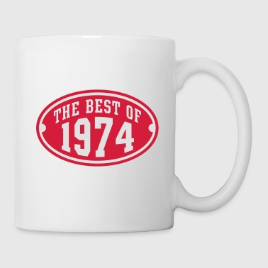 THE BEST OF 1974 2C Birthday Anniversaire Geburtstag T-Shirt - Kop/krus