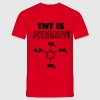 TNT is Dynamite (formula) T-Shirts - Men's T-Shirt