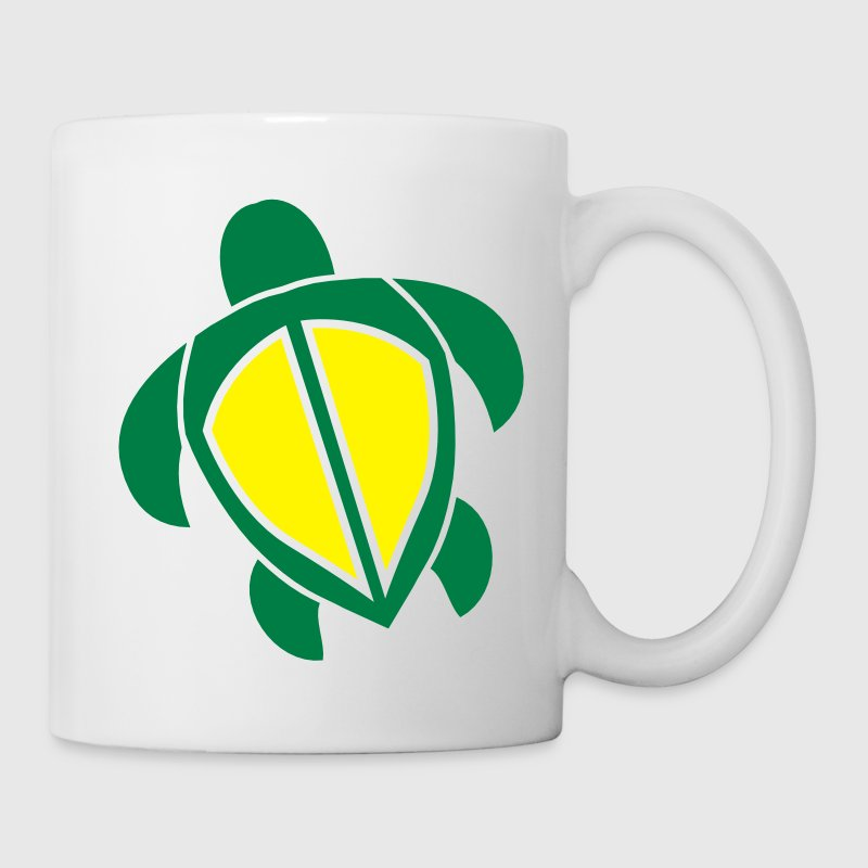 Swimming turtle tortoise shape Bottles & Mugs - Mug