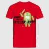 Killer App Android vintage geek humour slogan t shirts Tee shirts - T-shirt Homme