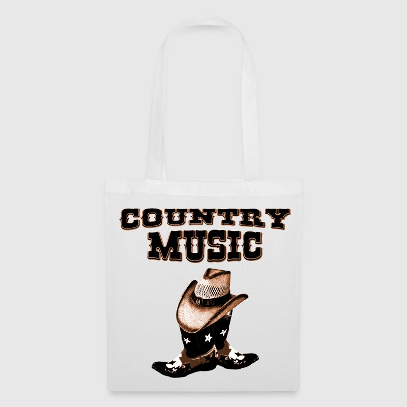 country music Bags  - Tote Bag