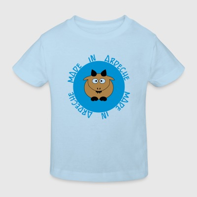 Baby girl made in Ardèche - T-shirt Bio Enfant