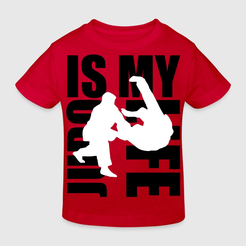 judo is my life Tee shirts Enfants - T-shirt bio Enfant