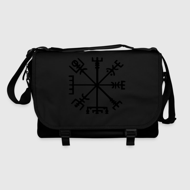 Vegvísir (Viking Compass) / Glow in the Dark Bags  - Shoulder Bag