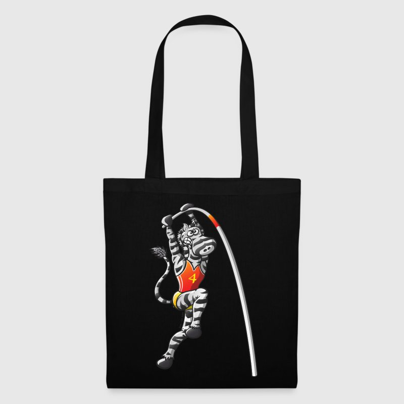 Olympic Pole Vault Zebra Bags  - Tote Bag