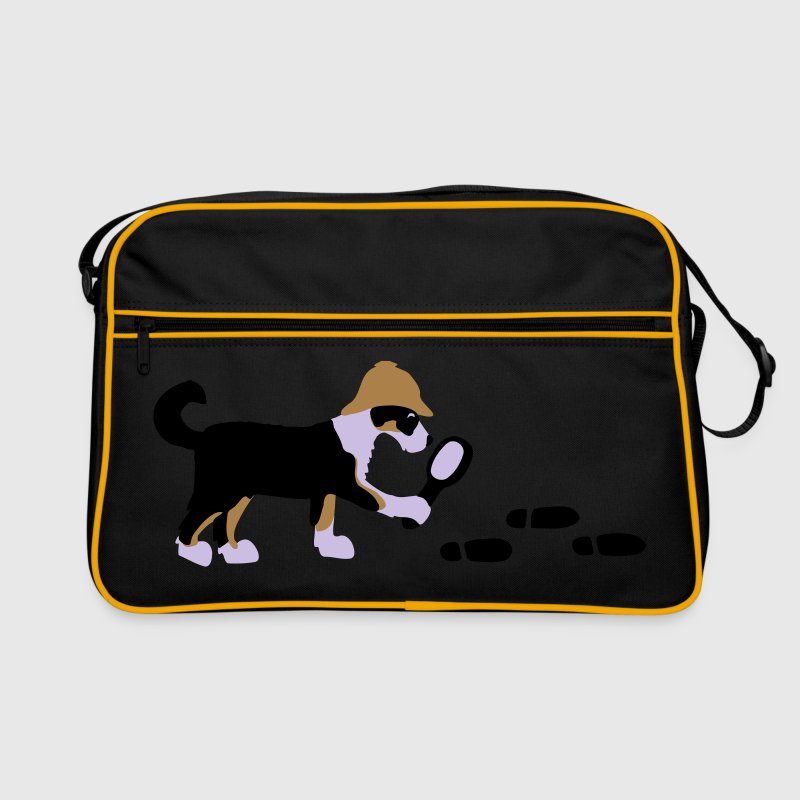 Search-and-rescue dog Tassen - Retro-tas