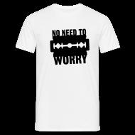 Lustig No Need To Worry T Shirt Sprüche T Shirts   Männer T