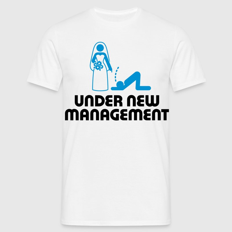Under New Management 2 (2c)++ T-Shirts - Men's T-Shirt