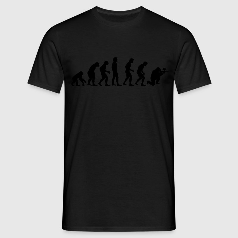 paintball_evolution T-shirts - Herre-T-shirt