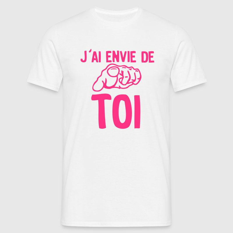 envie toi doigt pointe love sexe Tee shirts - T-shirt Homme
