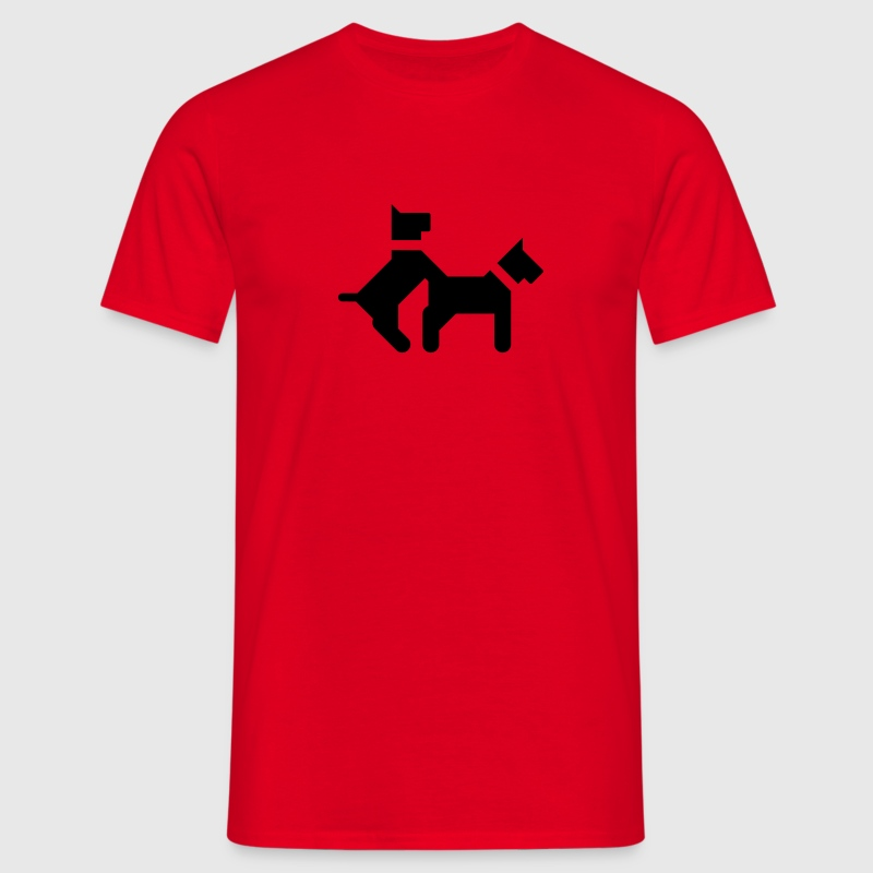 Like a dog | Doggy Style T-Shirts - T-shirt Homme