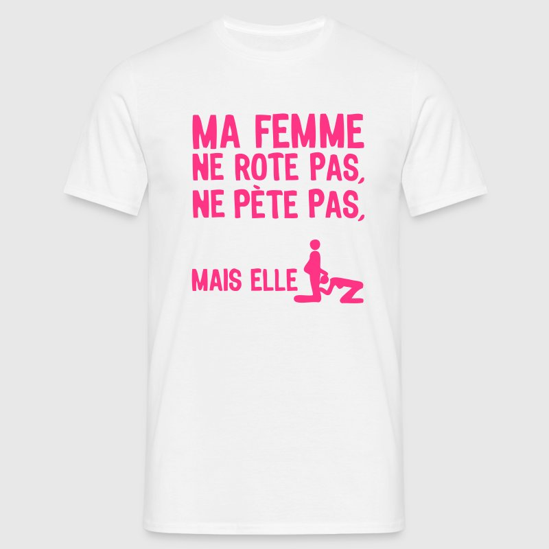 femme pete rote suce sexe1 Tee shirts - T-shirt Homme