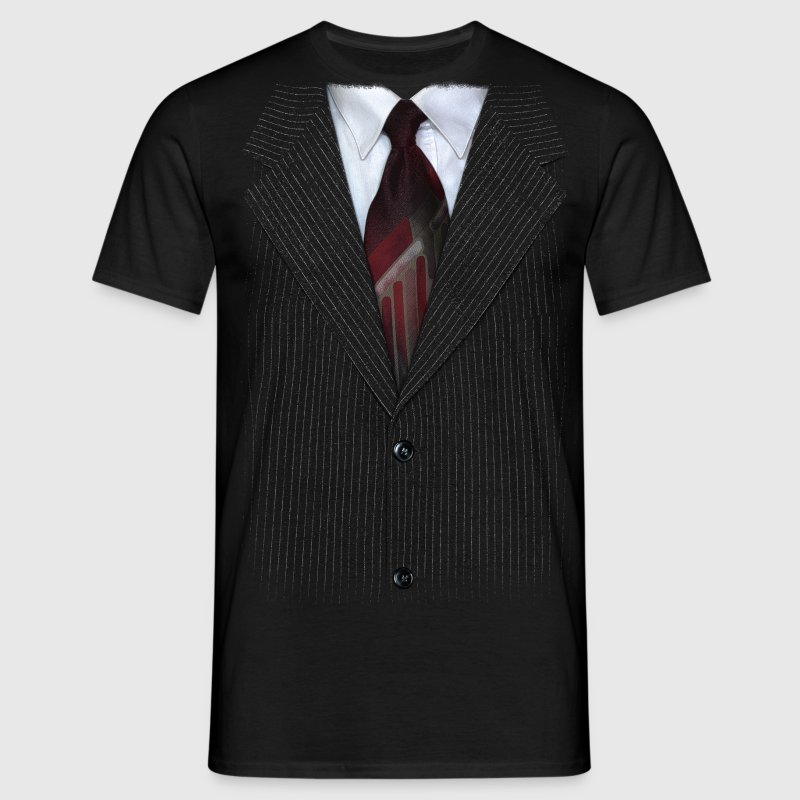 Suit v2 - Mannen T-shirt