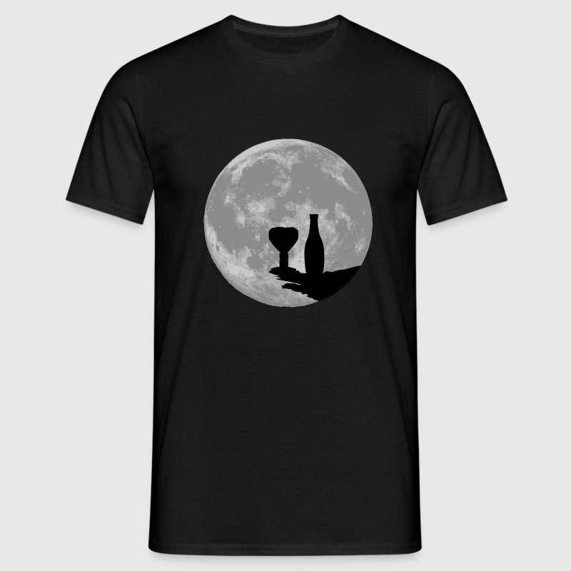 moon or Tee shirts - T-shirt Homme