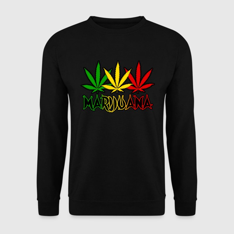 marijuana Sweat-shirts - Sweat-shirt Homme
