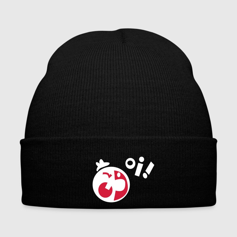 Black OI! Caps - Winter Hat
