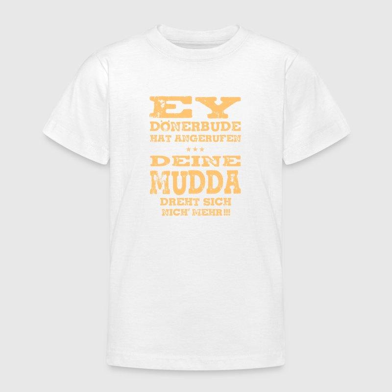 Lustige Sprüche T Shirt Dönerbude&Deine Mudda T Shirt