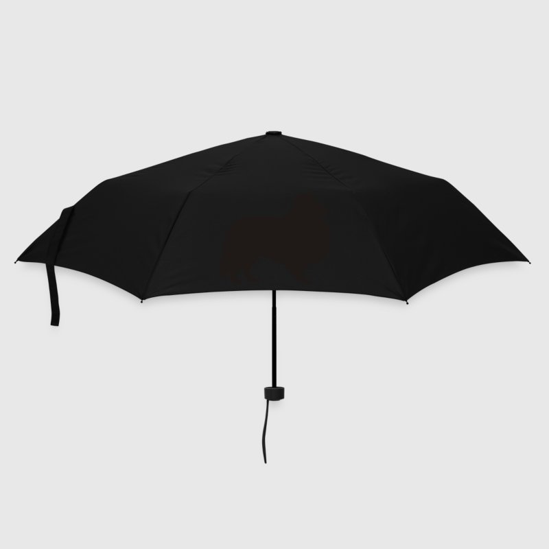 Black sheltie Umbrellas - Umbrella (small)