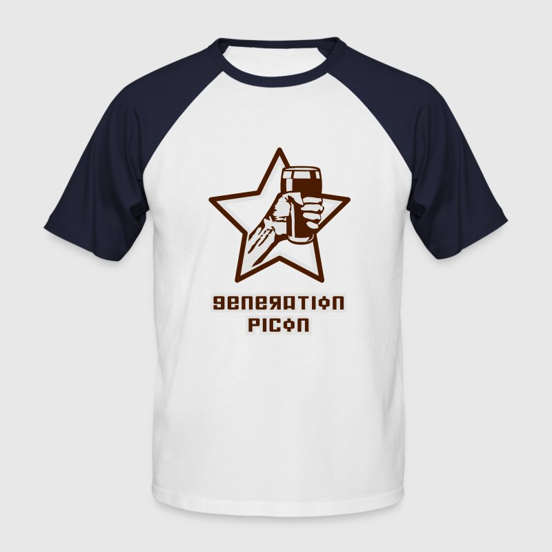 Generation Picon - Männer Baseball-T-Shirt