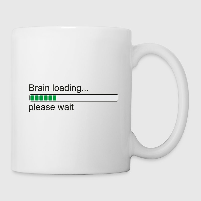 Geek: Brain loading ... var god vänta - Mugg