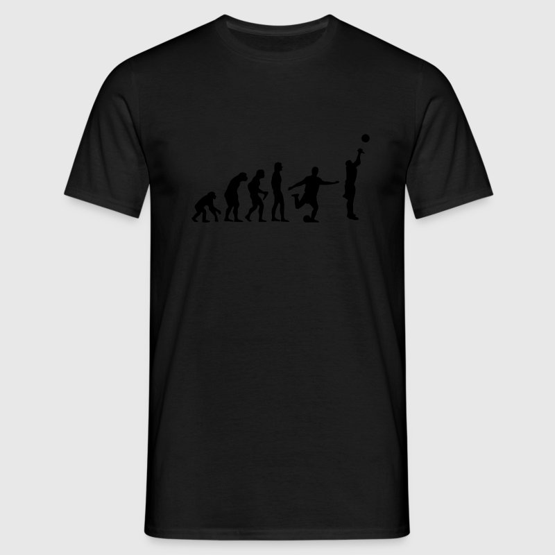 Sort Evolution T-Shirts - Herre-T-shirt