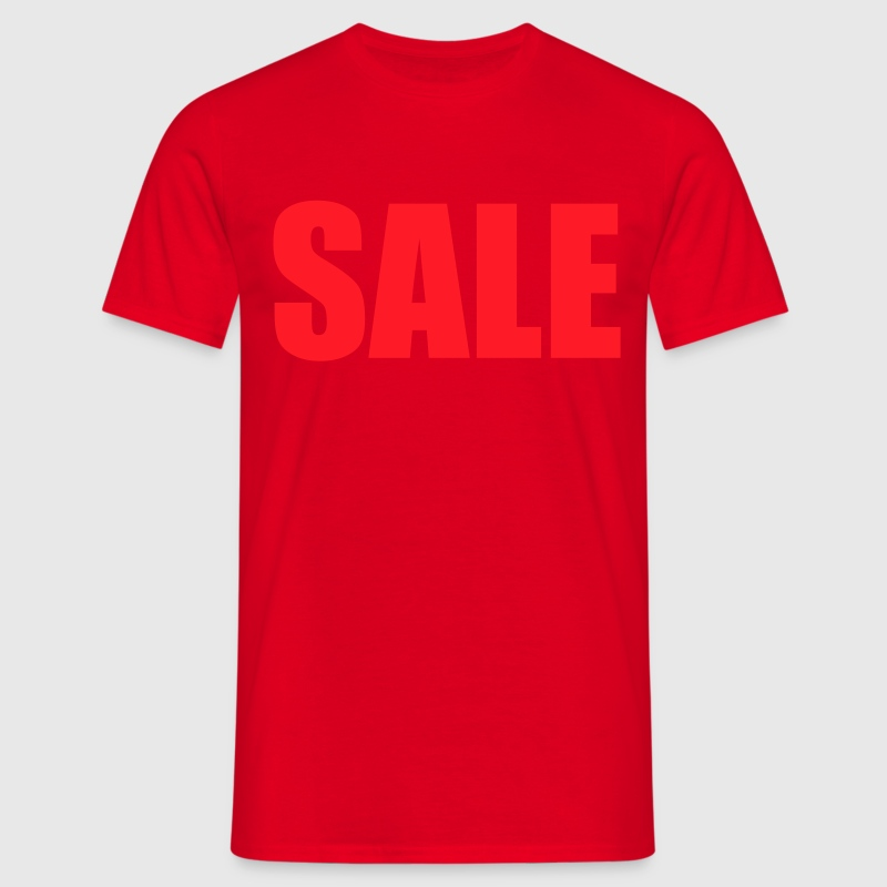 Red sale T-Shirts - Men's T-Shirt