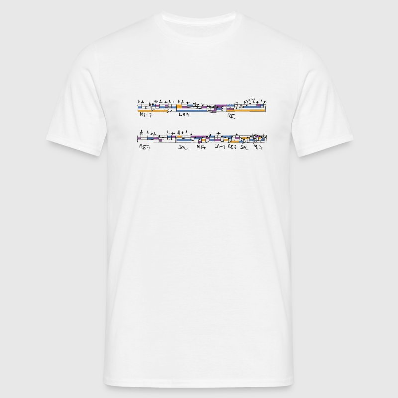 notes de jazz - T-shirt Homme