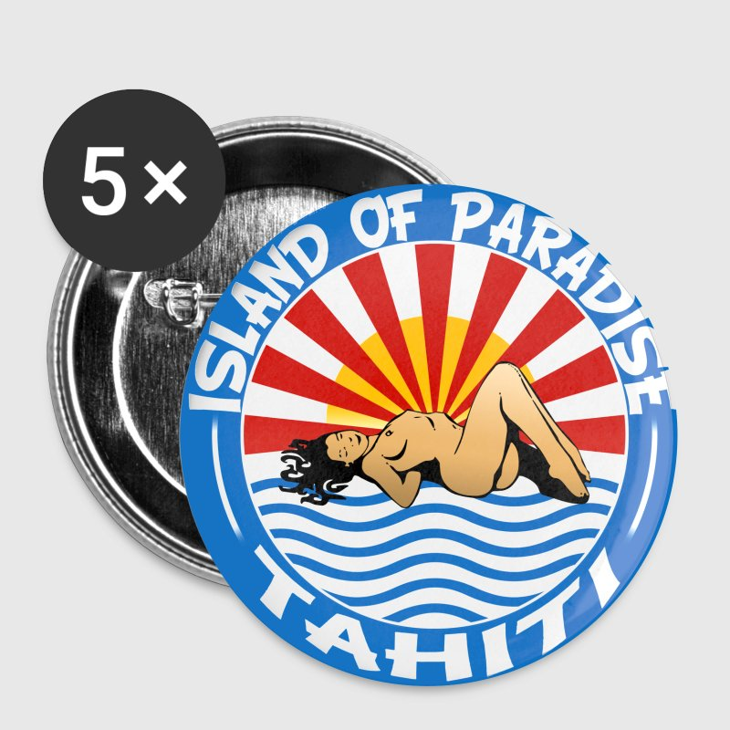 Tahiti - Badge grand 56 mm