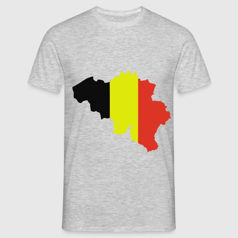 belgium flag map t-shirt | spreadshirt