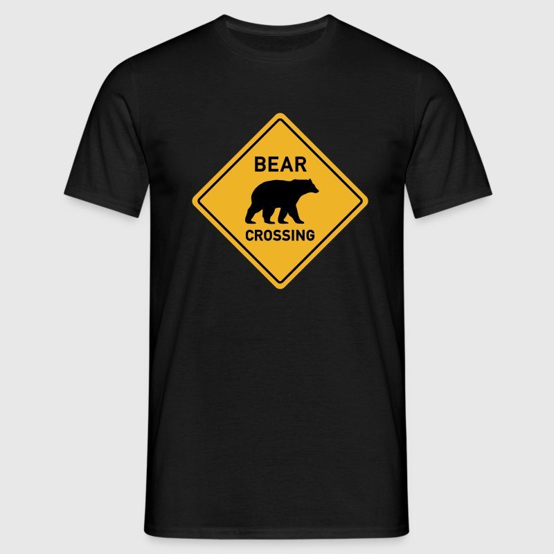 bear crossing T-Shirts - Men's T-Shirt