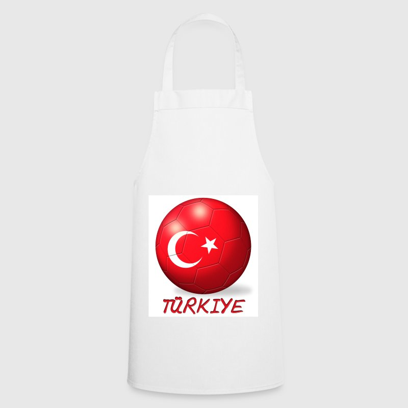 Football Türkiye / Turkey flag - Cooking Apron