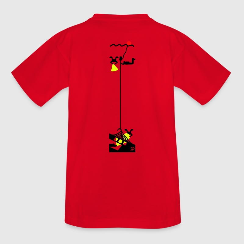 Red Wreck diving Kid's Shirts  - Teenage T-shirt