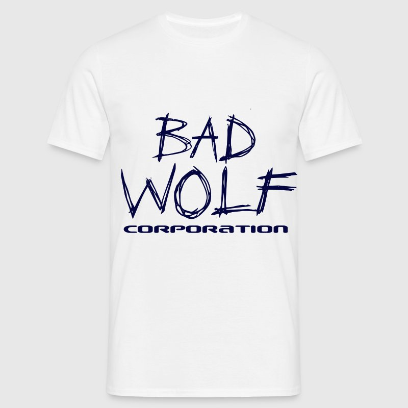 Bad Wolf Corporation (Blue) - Men's T-Shirt