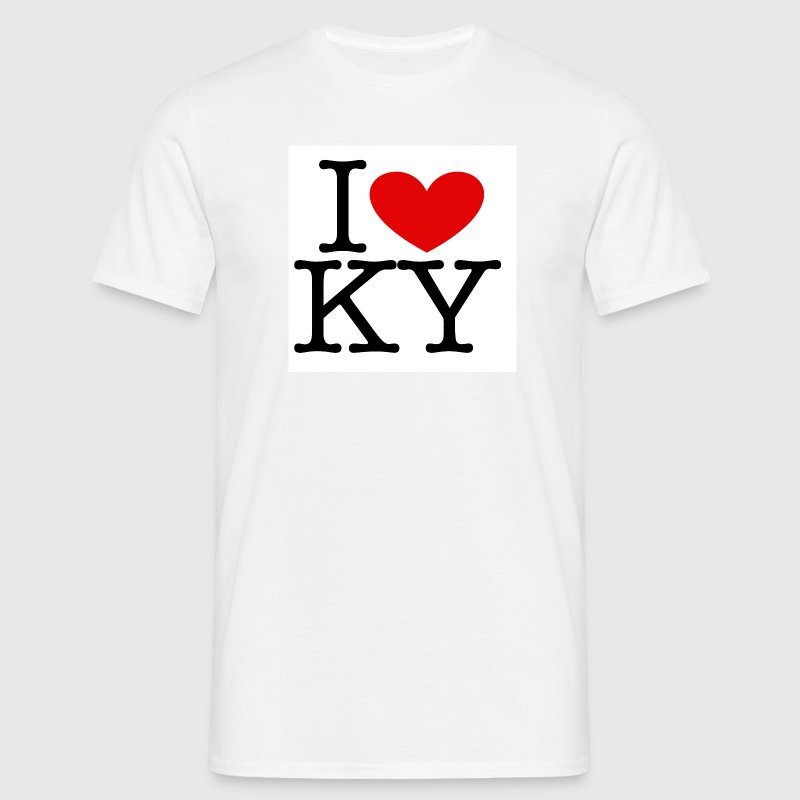 I Love KY - Men's T-Shirt