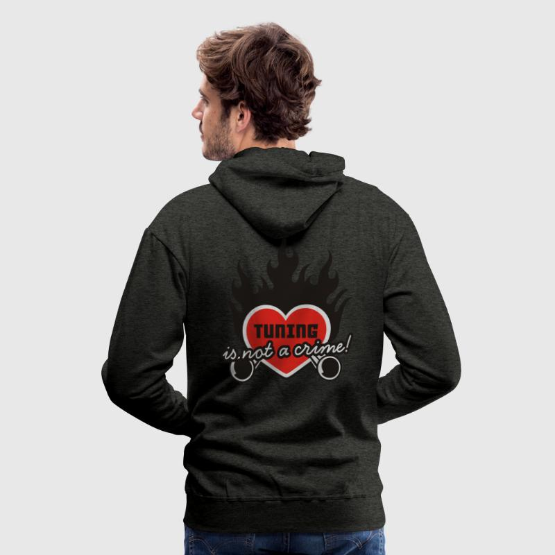 Grün tuning is not a crime Pullover - Männer Premium Hoodie