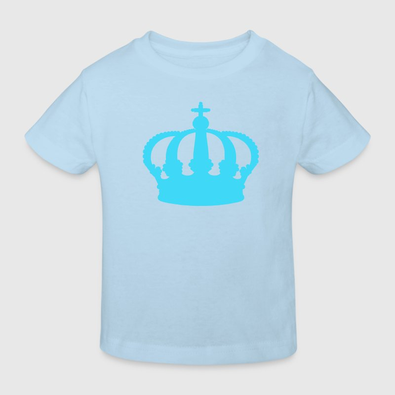 Light blue Crown Kid's Shirts  - Kids' Organic T-shirt