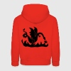 Rouge dragon Sweats Enfants - Pull à capuche Premium Enfant
