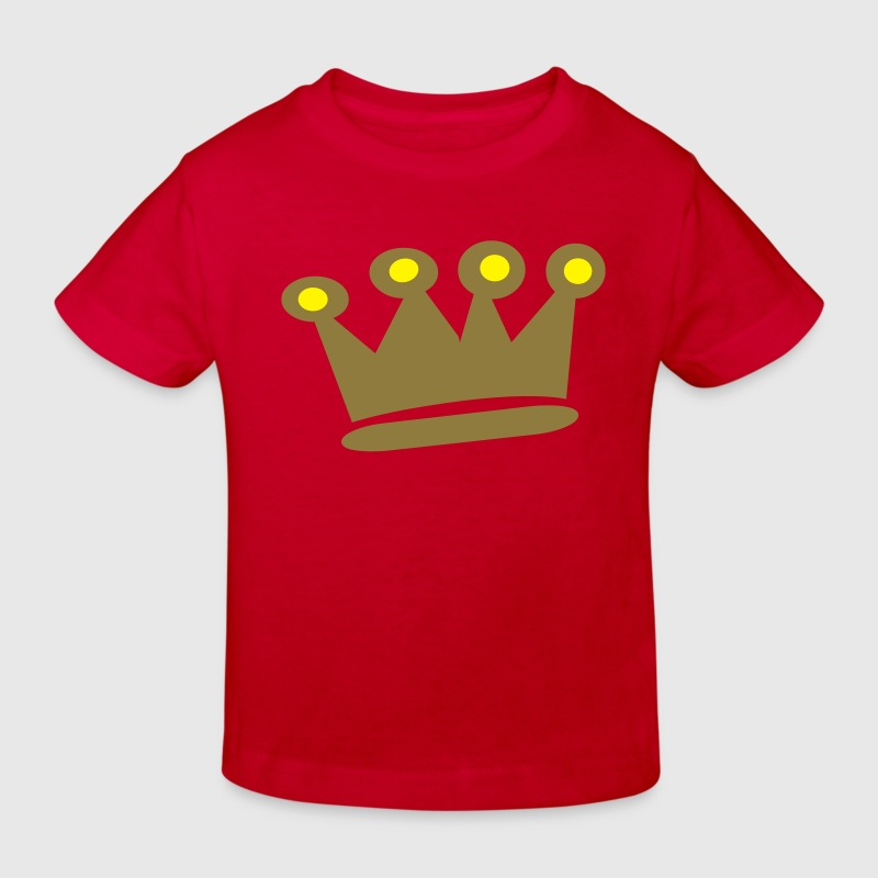 Gold Crown - Kids' Organic T-shirt
