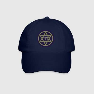 Chai (Life) Star of David - Baseball Cap